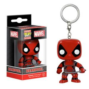 Marvel Deadpool Pocket Pop! Vinyl Schlüsselanhänger!