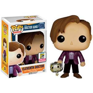 Doctor Who 11th Doctor With Cyberman Head SDCC Exclusive Funko Pop! Vinyl