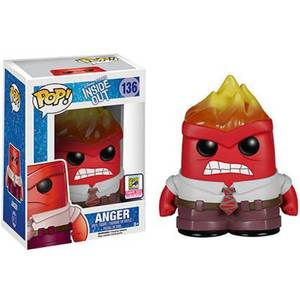 Disney Inside Out Anger Flaming Head SDCC Exclusive Funko Pop! Vinyl