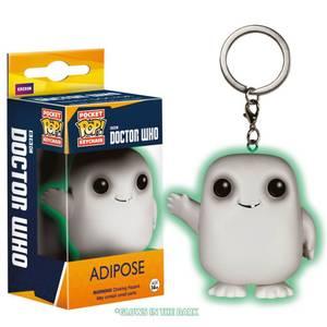 Doctor Who Glow in the Dark Adipose Funko Pop! Keychain