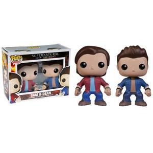 Supernatural Sam & Dean 2-Pack Funko Pop! Vinyls