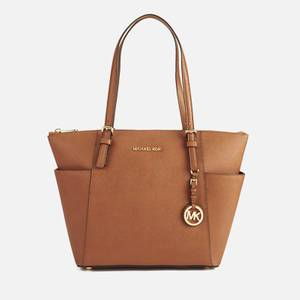 MICHAEL MICHAEL KORS Women's Jet Set Pocket Tote - Luggage