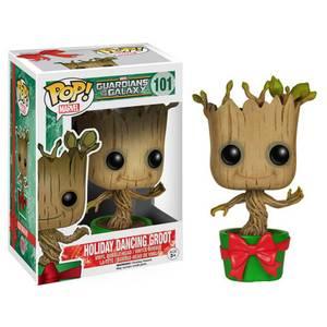 Guardians of the Galaxy Holiday Dancing Groot Pop Vinyl Figure