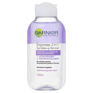 Garnier Skin Naturals 2-in-1 Eye Make-Up Remover (125ml)