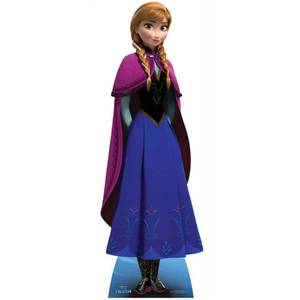 Disney Frozen Anna Lifesized Cardboard Cut Out