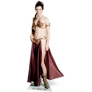 Star Wars Princess Leia Palace Slave Girl Kartonnen Figuur
