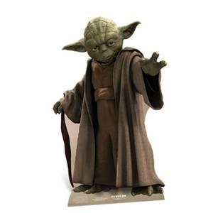 Star Wars Yoda Cut Out