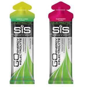 Science in Sport GO Energy + Electrolyte Gel Box of 30