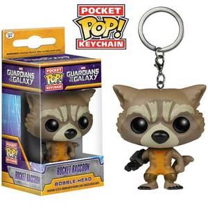 Marvel Guardians Of The Galaxy Rocket Raccoon Pocket Funko Pop! Keychain