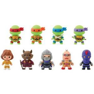 Teenage Mutant Ninja Turtles Series 1 3D Figural Foam Mini-Figure Key Chain