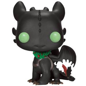 Hot to Train Your Dragon Holiday Toothless Limited Edition Funko Pop! Vinyl