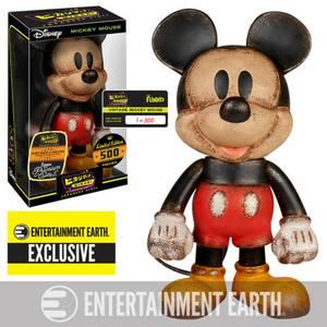 Figurine Vintage Mickey Mouse Disney Hikari Sofubi Entertainment Earth