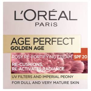 L'Oréal Paris エイジパーフェクトゴールデンエイジリッチリフォーティファイングデイクリーム - SPF15 (50ml)
