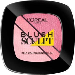 L'Oréal Paris Infallible Sculpting Trio Blush - Soft Rosey