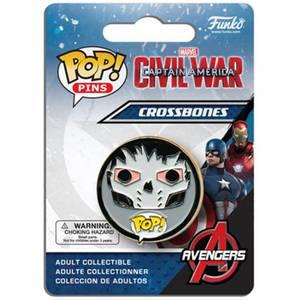 Captain America: Civil War Crossbones Pop! Pin