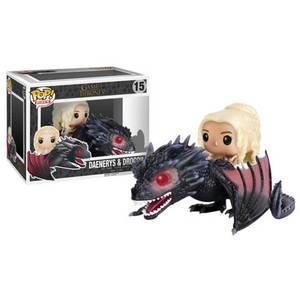 Figurine Pop! Daenerys sur Drogon - Game of Thrones