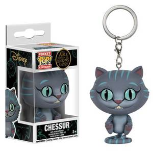 Alice Through the Looking Glass Chessur Cat Pocket Funko Pop! Keychain
