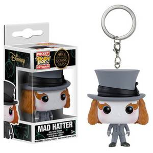Alice Through the Looking Glass Mad Hatter Pocket Funko Pop! Keychain