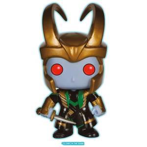 Marvel Comics POP! Marvel Vinyl Figura Loki Frost Giant Glow In The Dark