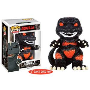 "Godzilla Fire Version Limited Edition 6"""" Oversized Funko Pop! Vinyl"
