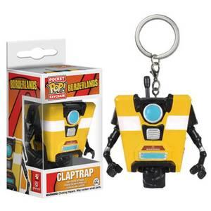 Borderlands Claptrap Pocket Funko Pop! Keychain