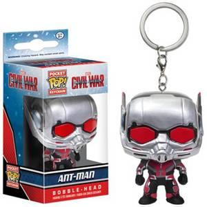 Captain America: Civil War Ant-Man Pocket Funko Pop! Keychain