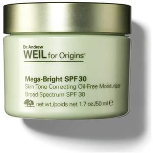 Origins Dr. Andrew Weil for Origins™ Mega-Bright SPF 30 Skin Tone Correcting Oil-Free Moisturiser 50ml