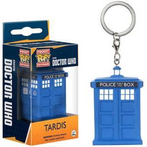 Doctor Who TARDIS Pocket Funko Pop! Keychain