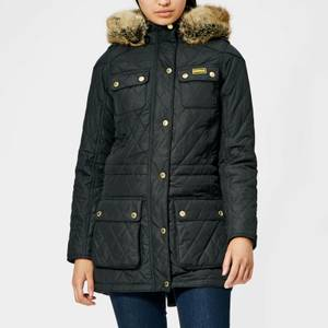 Barbour International Women's Enduro Quilt Jacket - Black