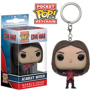 Captain America: Civil War Scarlet Witch Pop! Vinyl Figure Key Chain