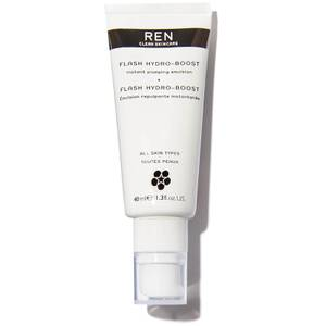REN Clean Skincare Flash Hydro-Boost Instant Plumping Emulsion 40ml