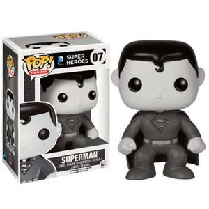Black & White Superman Pop! Vinyl Figure