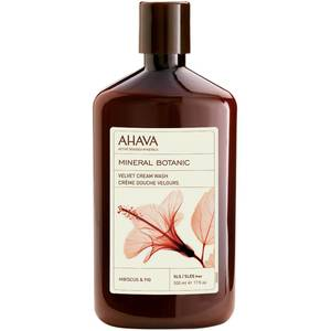 AHAVA Mineral Botanic Velvet Cream Wash - Hibiscus and Fig 500ml