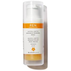 REN Clean Skincare Glycol Lactic Radiance Mask 50ml