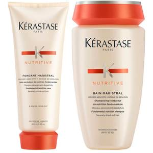 Kérastase Nutritive Fondant Magistral 200ml & Nutritive Bain Magistral 250ml