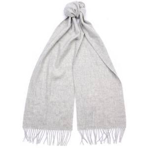 Barbour Women's Lambswool Woven Scarf - Light Grey