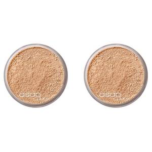 2 x asap Pure Mineral Makeup - Three 8g