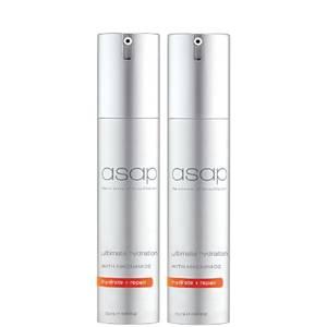 2 x asap Ultimate Hydration Moisturiser 50ml