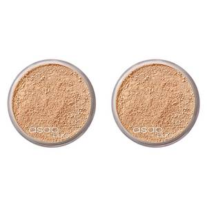 2 x asap Pure Mineral Makeup - One.Five 8g