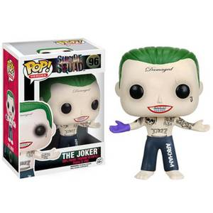Suicide Squad Joker Shirtless 3 Inch Funko Pop! Vinyl