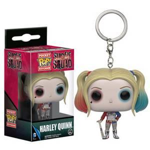 Suicide Squad Harley Quinn Pocket Funko Pop! Keychain