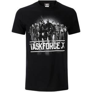 DC Comics Men's Suicide Squad Taskforce X T-Shirt - Black
