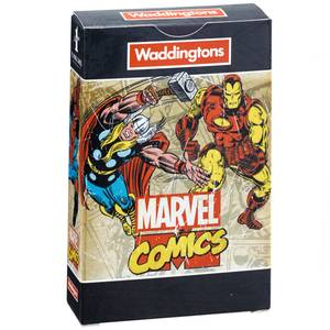 Waddingtons Number 1 Playing Cards - Marvel Comics Retro Edition