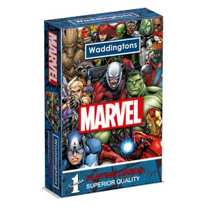 Waddingtons Number 1 Playing Cards - Marvel Universe Edition