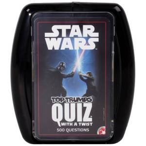 Top Trumps Quiz Game - Star Wars Edition