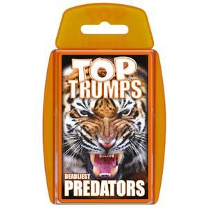 Top Trumps Card Game - Predators Edition