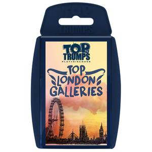 Top Trumps Card Game - Top London Galleries Edition
