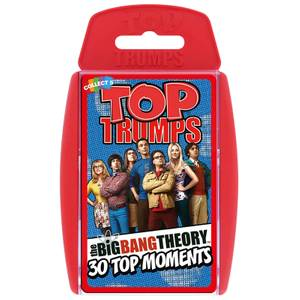 Top Trumps Card Game - The Big Bang Theory Edition