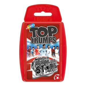Top Trumps Card Game - World Football Stars Edition