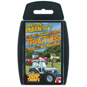 Top Trumps Card Game - Tractors Edition